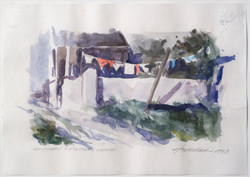 Laundry Day, Dingle Ireland