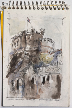 Edinburgh Castle, 4x6