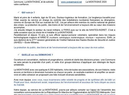 Lettre aux Montagnards - Réunions Publiques de Novembre