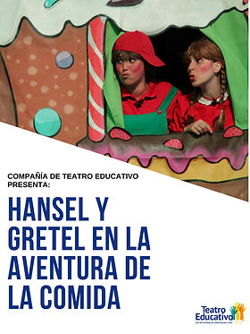 Obra teatral infantil educativa que trata el auto cuidado del cuerpo mediante la alimentación saludable.