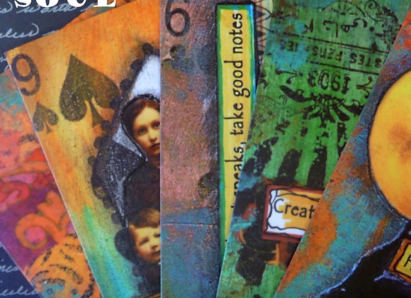 The Spoken Soul : Altered Cards for Inspiration on DVD
