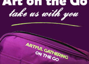 Artful Gathering On the Go Bag