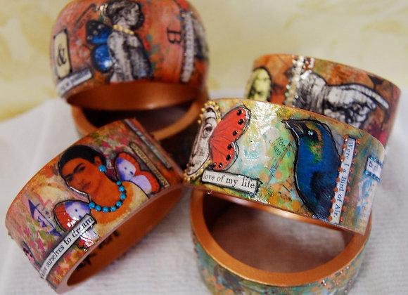 Metamorphosis Collage Bracelets on DVD