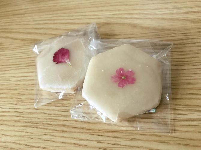 TODAY'S SPECIAL様にてホワイトデー限定エディブルフラワークッキー販売のお知らせです