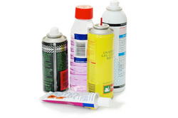 Glues, Gases & Solvents