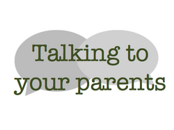 Talking to your parents