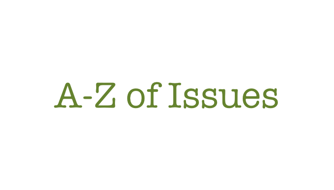 A-Z Issues
