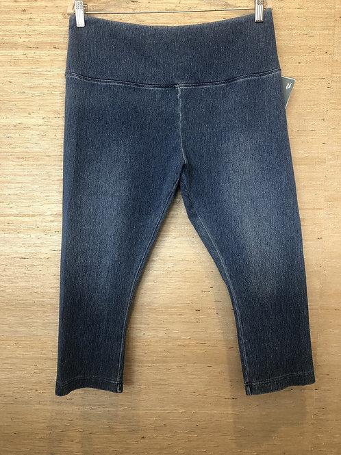 Lysse Mid Wash Capri Jeans
