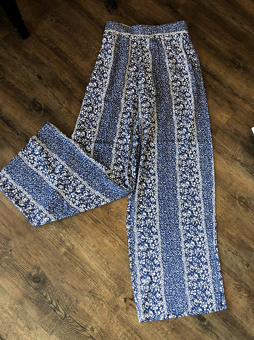 Blue Simply Noelle Pants