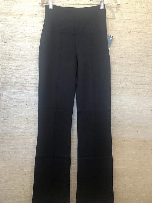 Lysee Wide Leg Black Leggings