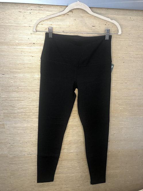 Lysse Black Cotton Leggings