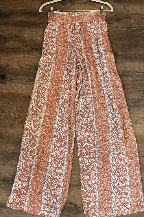 Orange Simply Noelle Pants