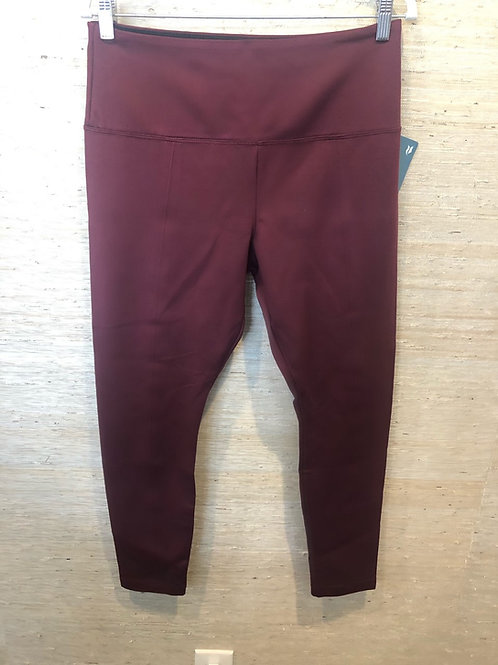 Lysee Burgundy Pointe Leggings