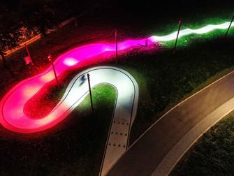 Musiconstien - nu med interaktivt lys