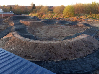 Pumptrack i Hammel