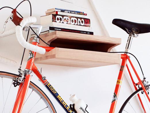 Why wooden bike racks / wall mounts?