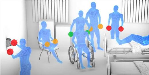 AIMS Video Blue People Wheelchair Scene.