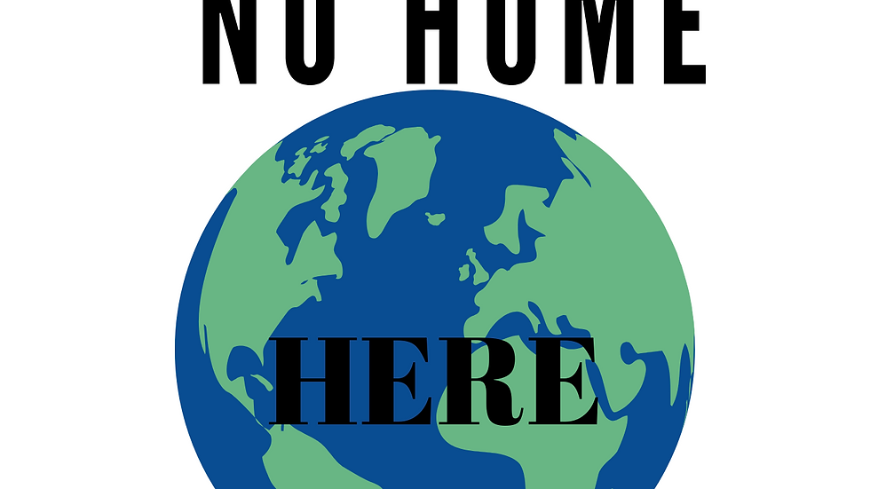 Hate Has No Home Here World T-Shirt