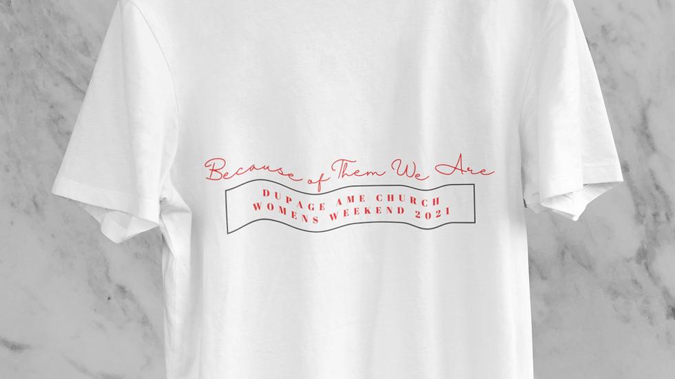 DuPage AME Church Women's Weekend Children's Shirt