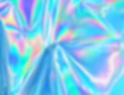 Holographic iridescent surface wrinkled