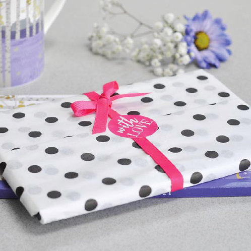 FREE Dotty About You Gift Wrap