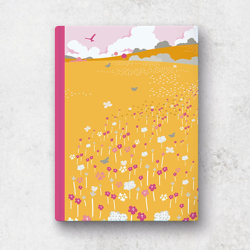 Butterfly Meadows A5 Notebook - Lined Pages