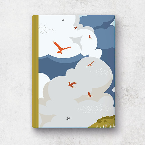 Soaring Kites A5 Notebook - Lined Pages