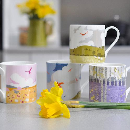 Complete Range of 4 Mugs