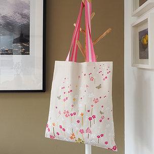 Chalky Grasslands Canvas Tote Bag