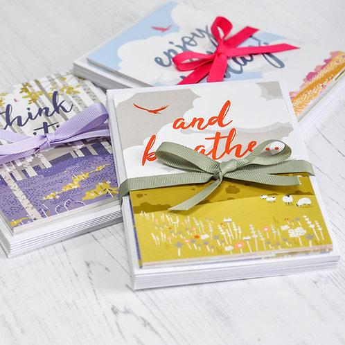 Pack of 10 Motivational Postcards