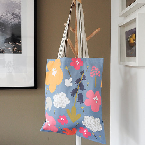 Chiltern Blooms Canvas Tote Bag
