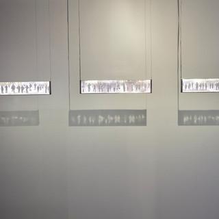 Paisagem I, II e III, Série Vaga, 2019.