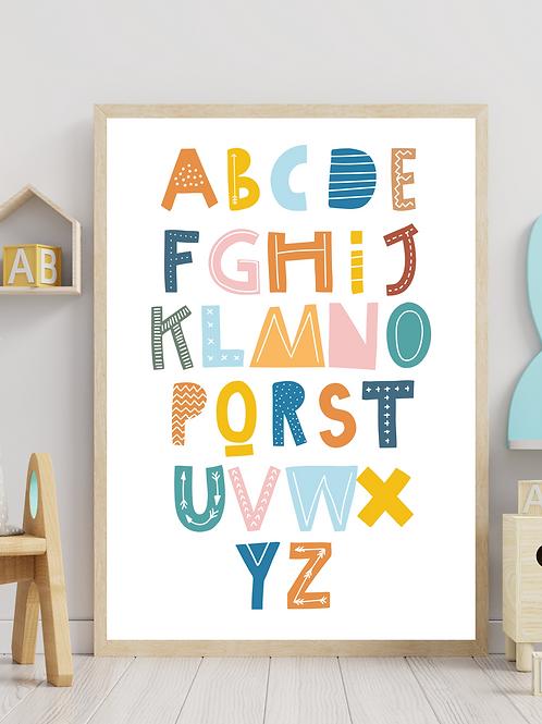 Stampa Alfabeto - We Love Colors!