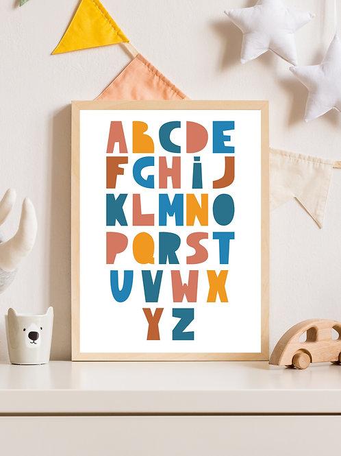 Stampa Alfabeto
