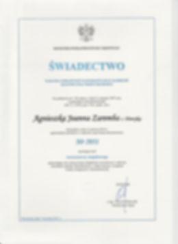 Licencja Rzeczoznawcy Majątkowego