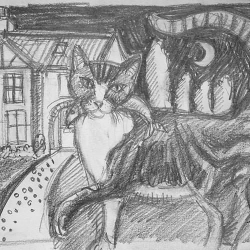 Commission - Tibbs Cat