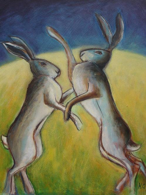 Boxing Hares III
