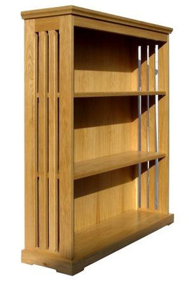 Mission Bookcase in French Oak.jpg