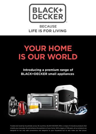 Black+Decker   Appliances