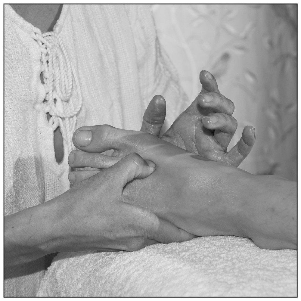 Massage zone spécifique