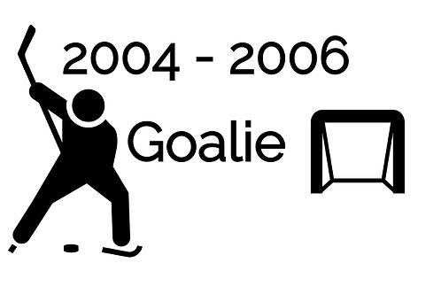 Goalie Deposit 2004-2006