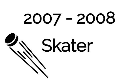 Skater Deposit 2007-2008