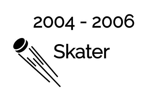 Skater Deposit 2004-2006