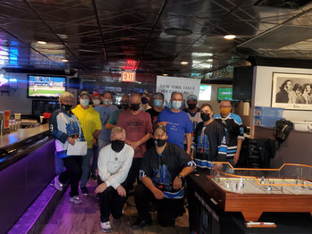 A GREAT DAY HAD BY ALL AS FOURTEEN COMPETE IN N.Y.T.H.L. LEAGUE DATE 7