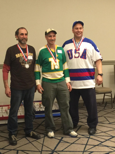 Dr. Lou and The Vinner take Silver and Bronze in Detroit.