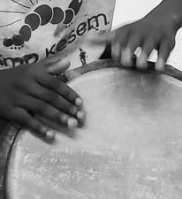 Drumming!