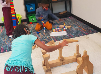 Exploring with blocks