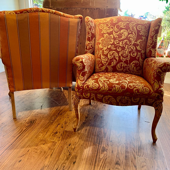 Pair of Custom Upholstered Chairs