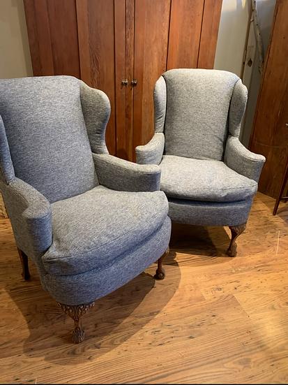 Custom Upholstered  Wingbacks