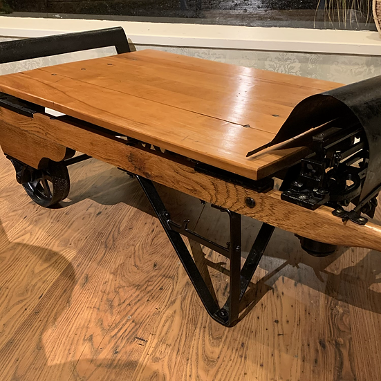 Weigh scale cart/ coffee table